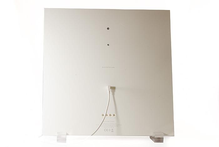 qlocktwo classic vanilla sugar wanduhr standuhr. Black Bedroom Furniture Sets. Home Design Ideas