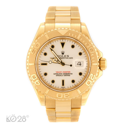 Rolex Yacht-Master 16628 40 mm Gold  A-Serie ca. 1998 (11325)