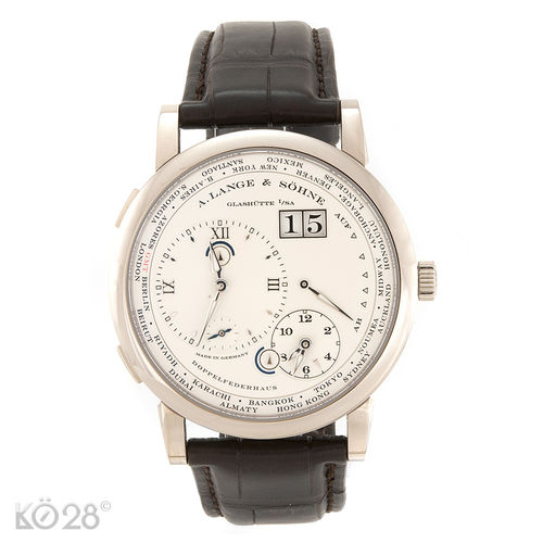 A. Lange & Söhne Lange 1 Time Zone 116.039 - 41,9 mm B+P 12/2016 D (11615)