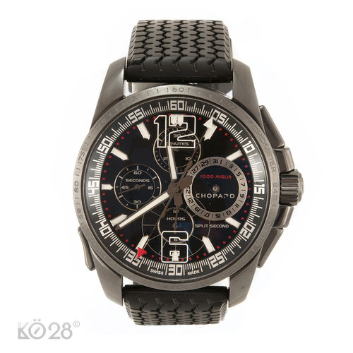 Chopard Mille Miglia GT XL Chrono Split Second 168513-3002 DLC 44 mm aus 2011 (10800)