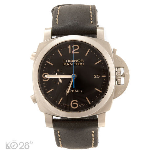 Panerai Luminor 1950 PAM 524 - 3 Days Chrono Flyback Papiere 2015 EU (11375)