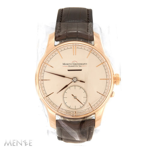 NEU - Moritz Grossmann ATUM Power Reserve 470 Roségold 41 mm Full Set  (11938)