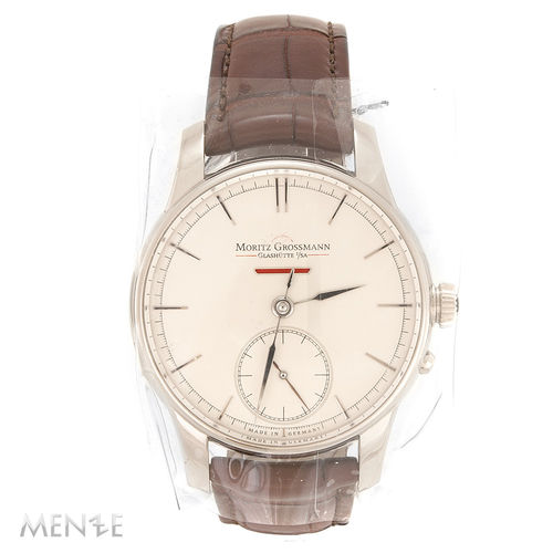 NEU - Moritz Grossmann ATUM Power Reserve 471 Weißgold 41 mm Full Set  (11945)