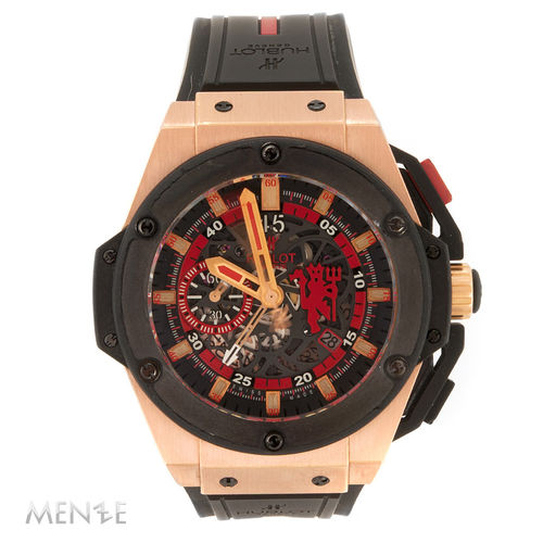 Hublot King Power Red Devil Manchester United 716.OM.1129.RX.MAN11 Rosegold (11976)