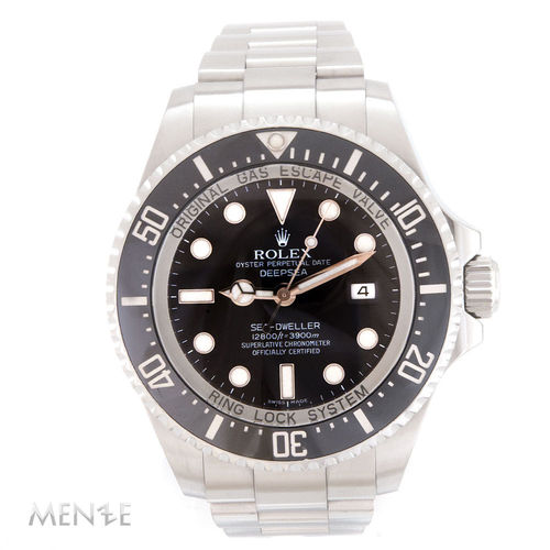 Rolex Sea-Dweller DeepSea Deep Sea 116660 Black Dial B+P 09/2009 (12429)