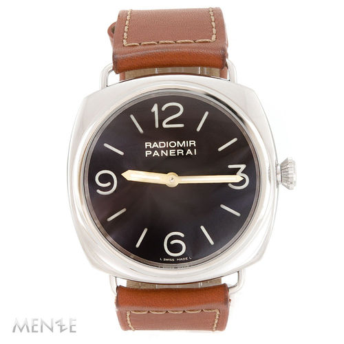 Panerai Radiomir 1938 PAM232 Special Edition Stahl - 47mm B+P 01/2008 (12559)