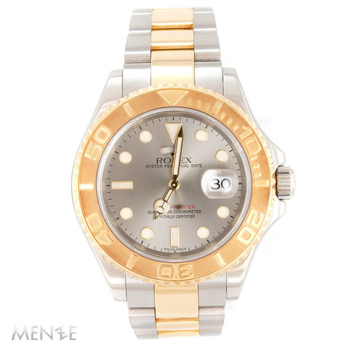 Rolex Yacht-Master 40 16623 - Stahl / Gold Steel Dial B+P 05/2006 (12607)