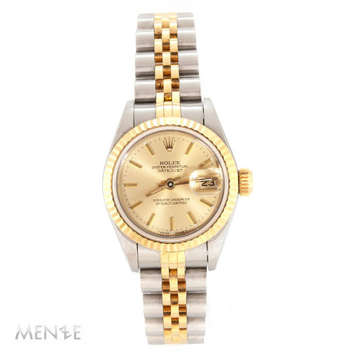 Rolex Datejust 26mm 69173 Stahl / Gold Champagner Dial S-Serie ca. 1993 (12674)