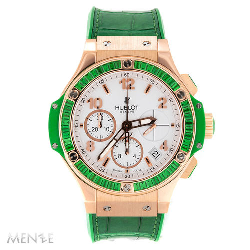 Hublot Big Bang 341.PG.2010.LR.1922 Tutti Frutti Apple Green B+P 11/2015 (13254)