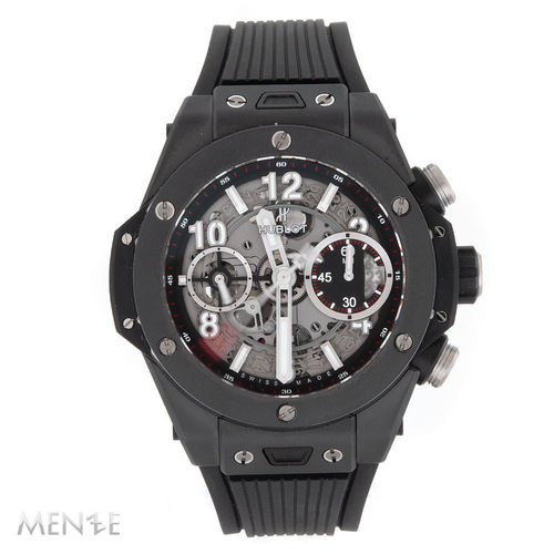 Hublot Big Bang Unico Black Magic 441.CI.1170.RX Keramik B+P 2021 Unworn (13362)